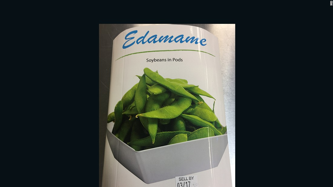 "<a href=""http://www.cnn.com/2017/03/20/health/edamame-listeria-recall/index.html"">Edamame sold in 33 states</a> was recalled because it may be contaminated with listeria."