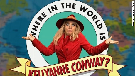 'SNL': Where in the world is Kellyanne Conway?