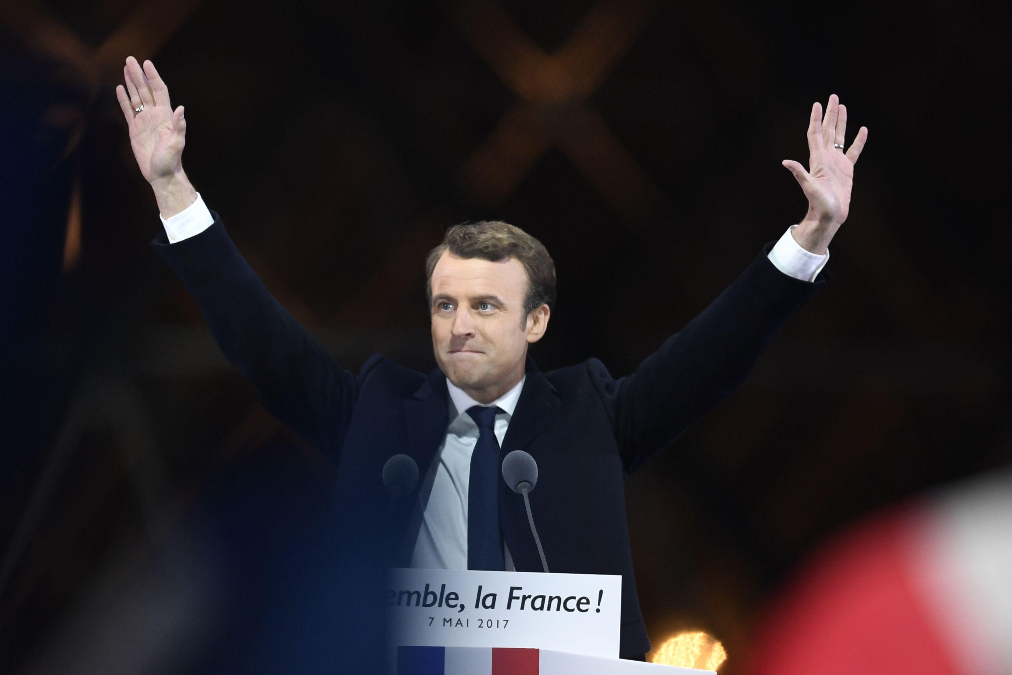 Macron Fires Back At Trump In Unga Speech Cnn Video