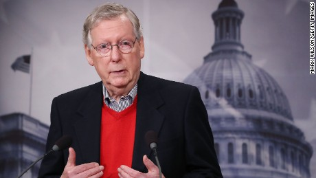 McConnell: We need less drama in the WH