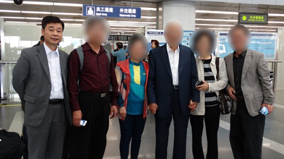 Kim Hak-song is seen in a photo shared with CNN.