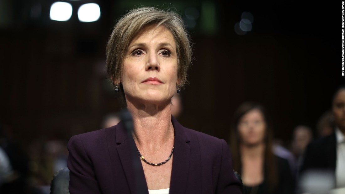 Sally Yates defends FBI investigation into Flynn, calls Barr move to drop charges 'highly irregular'