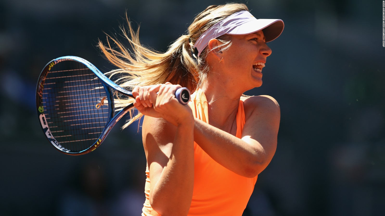 Maria Sharapova's return to tennis