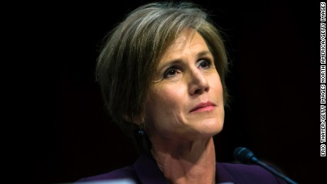Sally Yates cautions against firing Rod Rosenstein