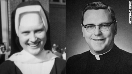Sister Catherine Ann Cesnik and the Rev. A. Joseph Maskell.