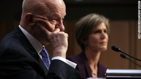 W.H. highlights Clapper's lack of evidence on Trump-Russia collusion