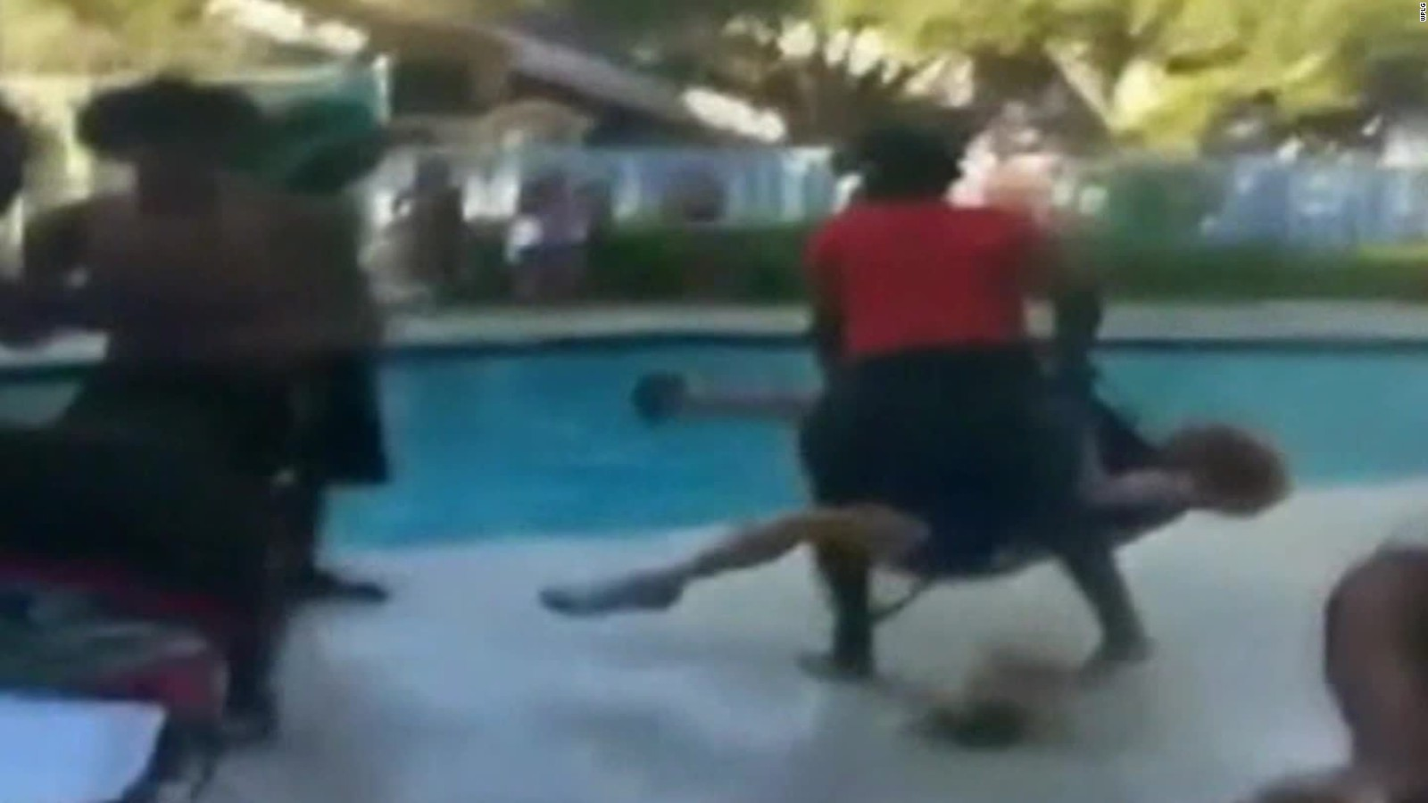 Florida Teen Who Threw Woman Into Pool Arrested   CNN Pictures Gallery