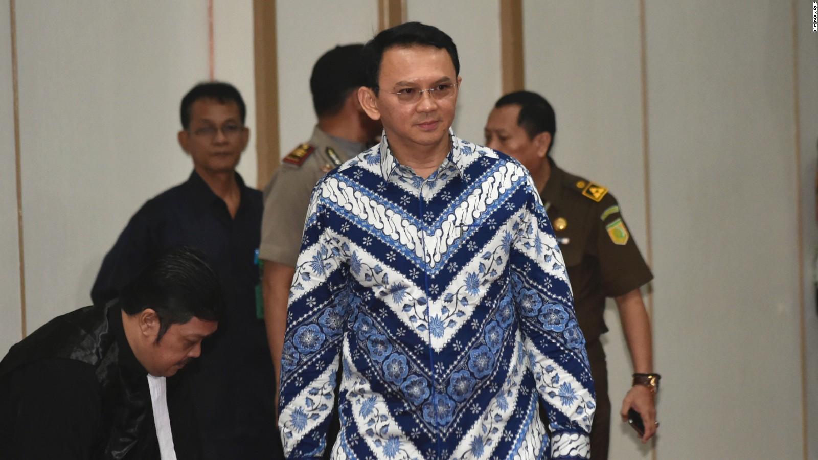Ahok guilty jakartan governor sentenced to jail after landmark ahok guilty jakartan governor sentenced to jail after landmark indonesian blasphemy trial cnn stopboris Gallery