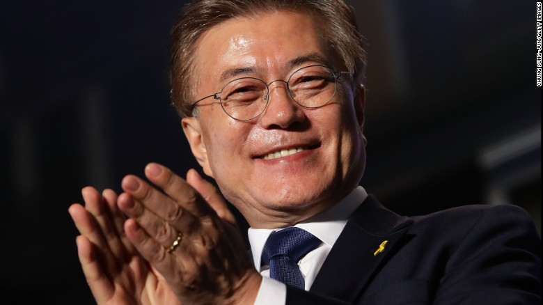 Balancing act for new South Korean president