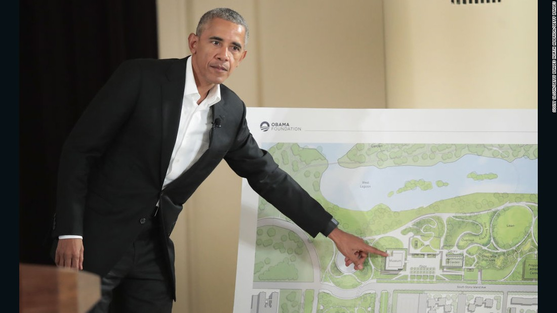 Controversial Obama presidential library is a cause for celebration
