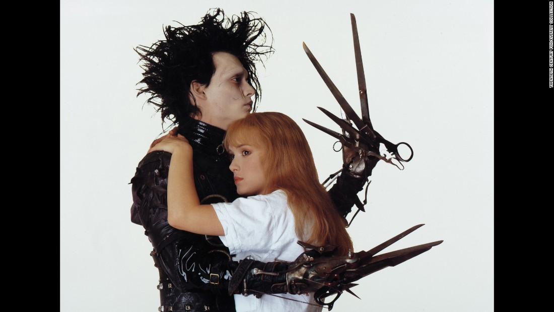 "Tim Burton's quirky 1990 love tale, ""Edward Scissorhands,"" between the artificial creature Edward (Johnny Depp) and teenage Kim (Winona Ryder), is a modern version of love lost."