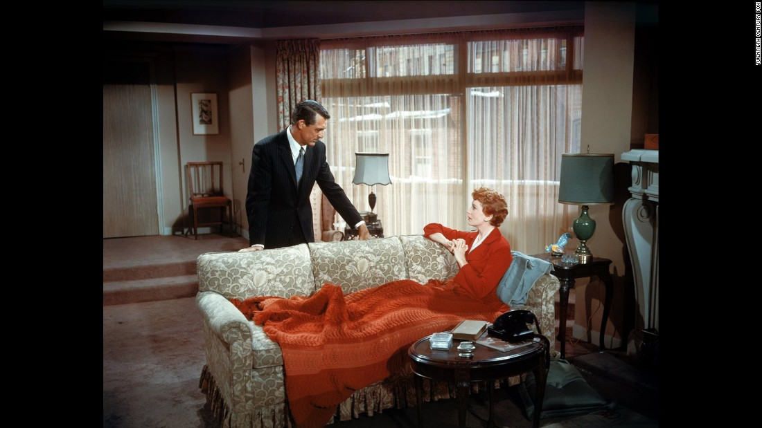 "This famous scene with Cary Grant and Deborah Kerr in the 1957 classic ""An Affair to Remember"" is the moment when Nickie (Grant) realizes Terry (Kerr) can't walk ... and that's why she didn't keep her promise to meet him on top of the Empire State Building."