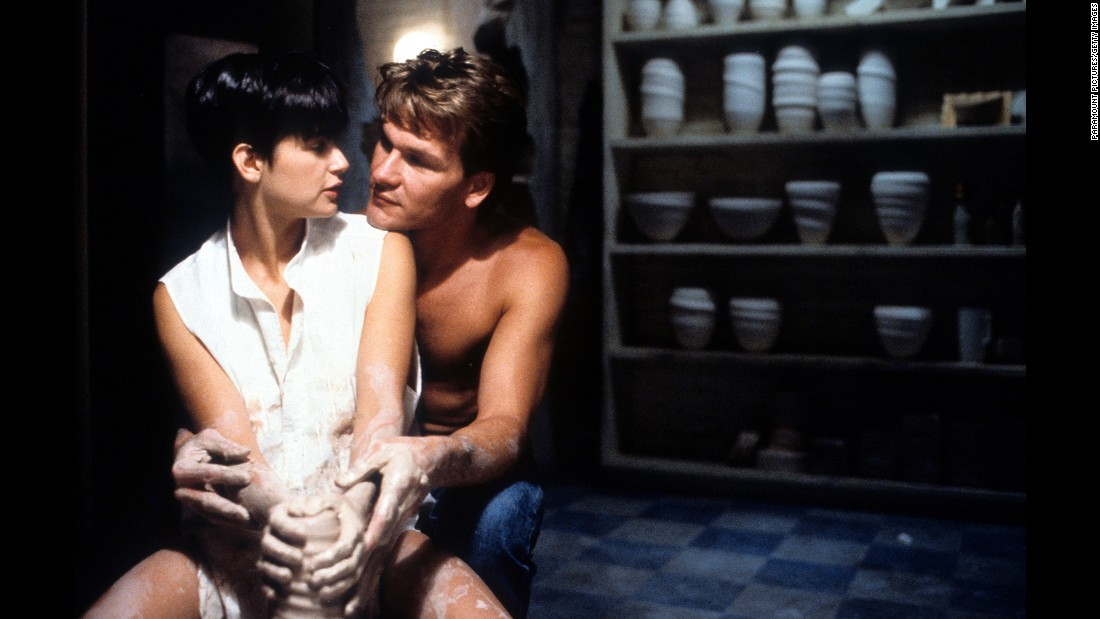 "Think about one of your favorite romantic movies. Is the first image that comes to mind a tender, touching moment? No matter if it's a love or goodbye sequence, those are the scenes that Hollywood imprints on your heartstrings.<br /><br />One priceless moment: when Molly (Demi Moore) is embraced by Sam (Patrick Swayze) in the 1990 film ""Ghost."""