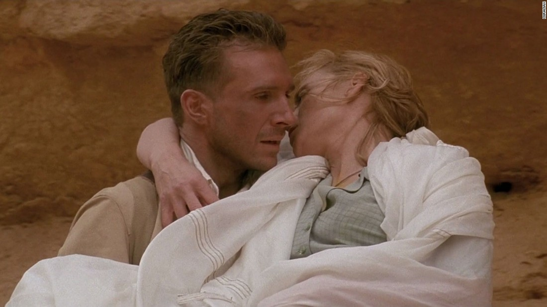 "In the 1996 film ""The English Patient,"" it's the final days of World War II, and a badly burned Englishman (Ralph Fiennes) relates the story of his love affair with Katharine (Kristin Scott Thomas) in the desert of Libya."