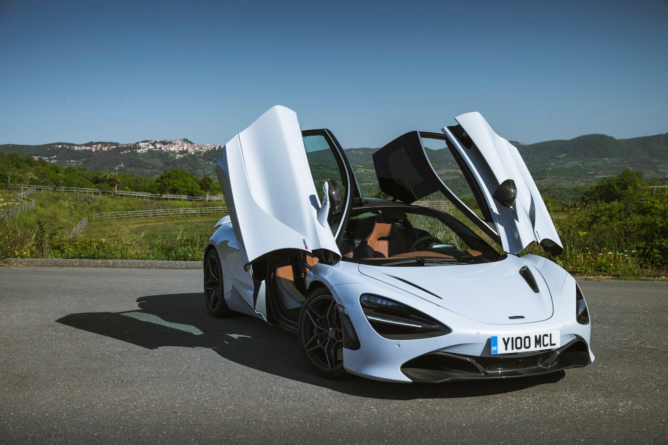 An Italian encounter with the new McLaren 720S - CNN Style