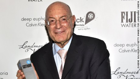 Arnon Milchan poses backstage at the 2016 IFP Gotham Independent Film Awards.