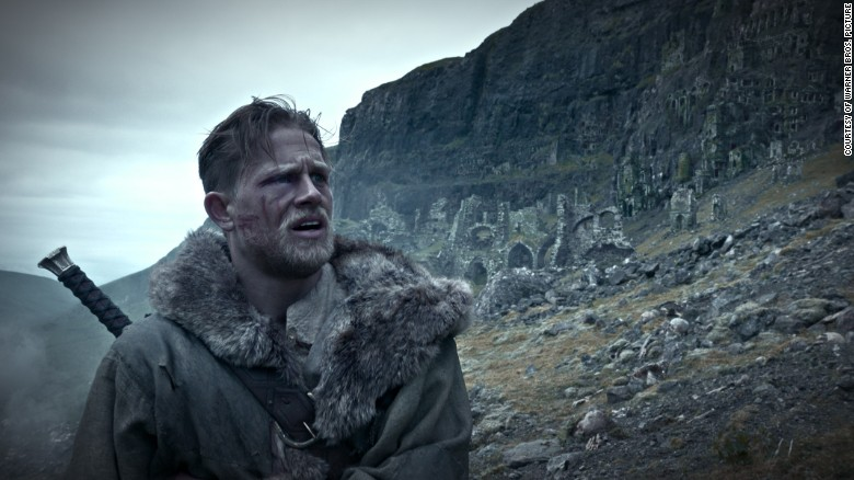 "Charlie Hunnam stars as the ""born king"" in Guy Ritchie's new take on the ancient legend."
