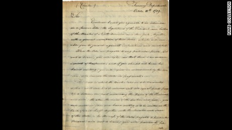 Rare collection of Alexander Hamilton letters up for sale CNN