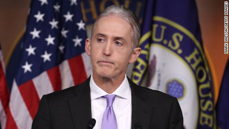 Rep. Trey Gowdy not seeking re-election