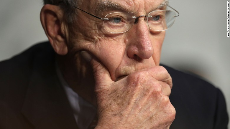 Grassley urges Trump to reconsider court picks