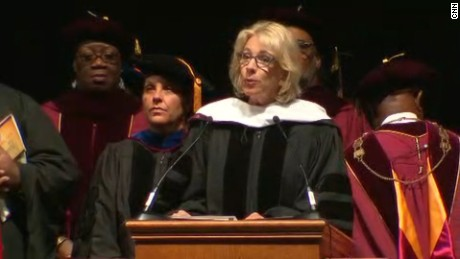 Bethune-Cookman grads boo Betsy DeVos at commencement