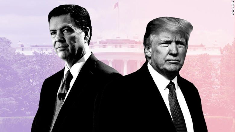 Comey slams 'the forest fire that is the Trump presidency' in book, reports say