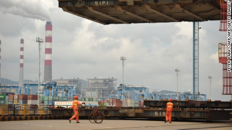 "China's vast container ports will play a major role in ""One Belt, One Road."""