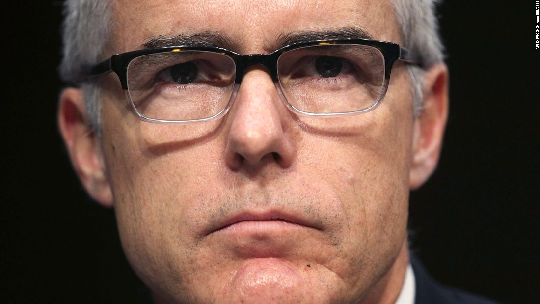 Andrew McCabe's new book 'The Threat' is an instant best-seller
