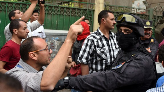 Civil society groups say activists face growing repression in Egypt.
