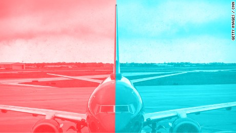 Our love-hate relationship with air travel