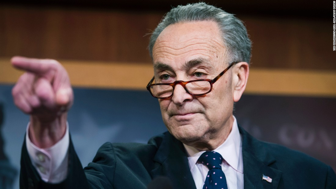 "Senate Minority Leader Charles Schumer holds a news conference after James Comey's firing on Tuesday, May 9. Schumer sharply criticized the President's decision and <a href=""http://www.cnn.com/2017/05/09/politics/congress-reacts-james-comey-firing/"" target=""_blank"">called for a special prosecutor</a> to investigate Russian meddling and any connection to Trump aides."