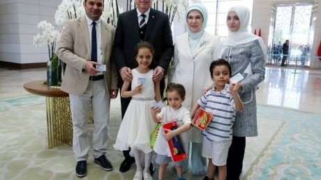 7-year-old Syrian refugee Bana Alabed gets Turkish ID