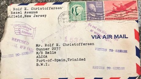A lost love letter finds its recipient after 72 years   CNN