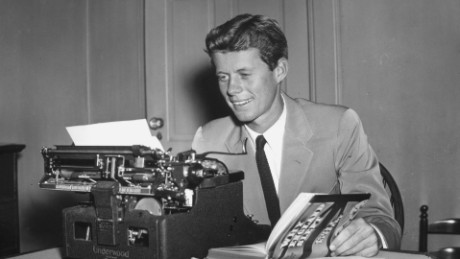 JFK's earliest-known voice recording