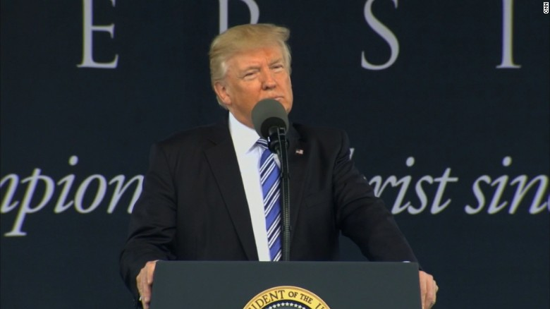 Trump's Liberty University commencement speech