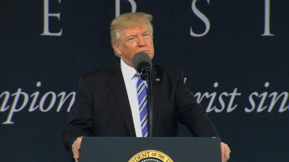 trump commencement speech liberty univ