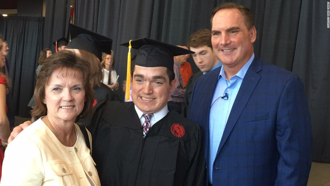 "Ryan Dant graduated from the University of Louisville on Saturday. His father credits ""hard work and great science"" for even making the day possible. Click through our gallery to learn more about Ryan's life."