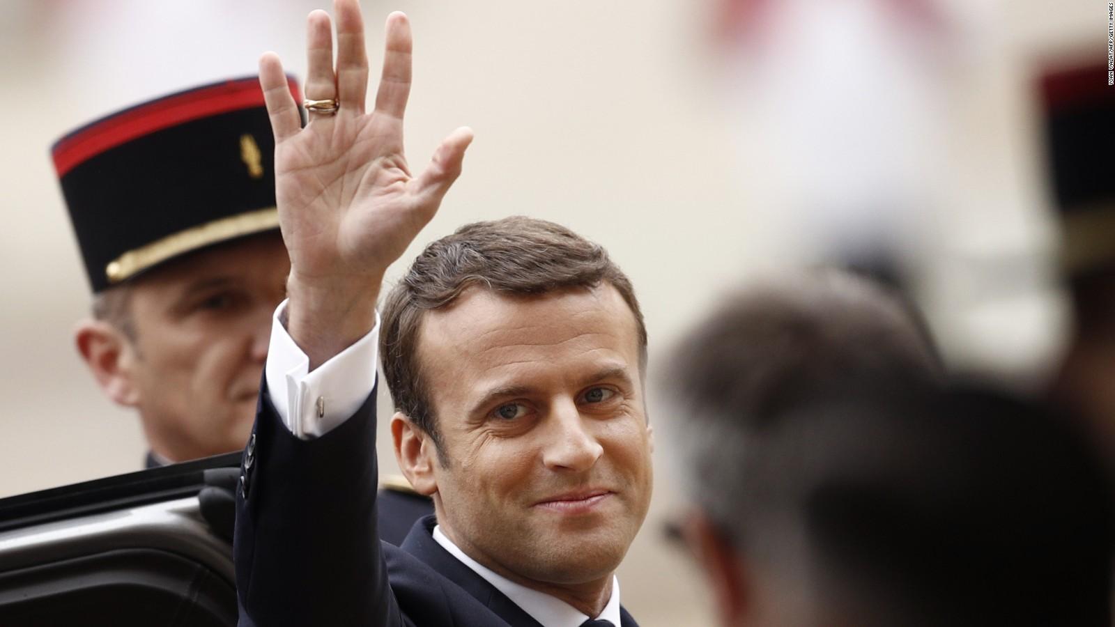 Emmanuel Macron Sworn In As French President Cnn