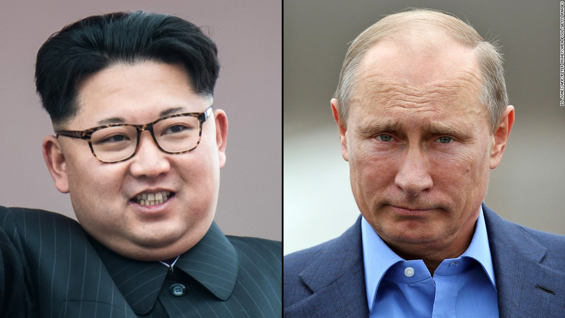 Putin and Kim Jong Un will meet in Russia on Thursday, says state news
