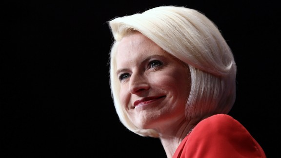 WASHINGTON, DC - FEBRUARY 10:  Callista Gingrich introduces her husband, Republican presidential candidate and former Speaker of the House Newt Gingrich, during the Conservative Political Action Conference (CPAC) at the Marriott Wardman Park February 10, 2012 in Washington, DC. Thousands of conservative activists are attending the annual gathering in the nation's capital.  (Photo by Win McNamee/Getty Images)