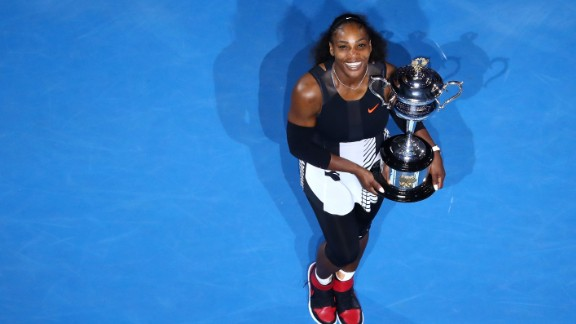 Serena Williams defaeted her sister, Venus Williams, to win the 2017 Australian Open.