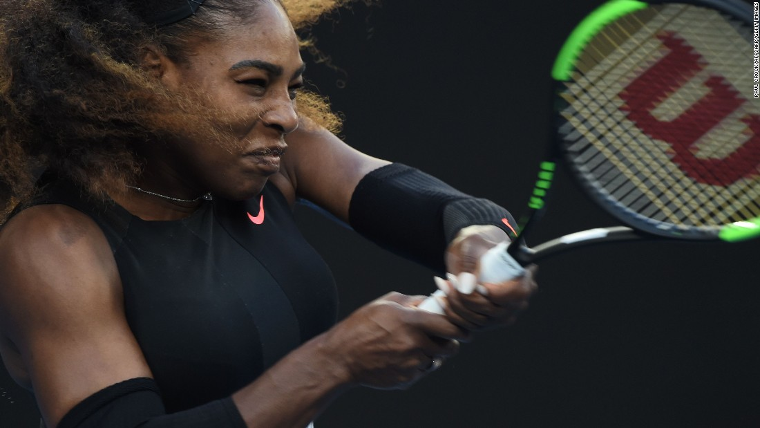 The American captured the title in Melbourne without dropping a set and is now one shy of the all-time grand slam total held by Margaret Court.