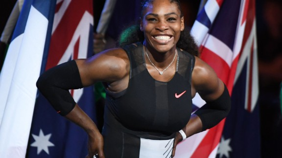 The most successful female tennis player in the Open era. Serena Williams won her 23rd grand slam at Australian Open in January 2017 to eclipse Steffi Graf's record for grand slam titles in the Open era.
