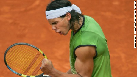 A lot has changed since a 19-year-old Rafael Nadal became only the 43a96bd9033