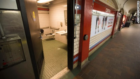 The new front line in opioid abuse fight: public restrooms