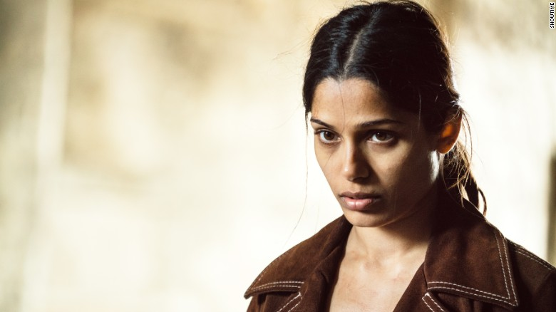 Freida Pinto in 'Guerrilla.