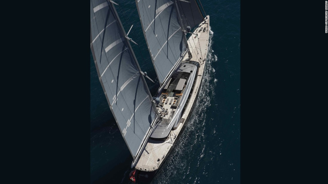 Built by Italian shipyard Perini Navi, the 70-meter superyacht scooped the awards in both the 40-meter-plus and overall categories.