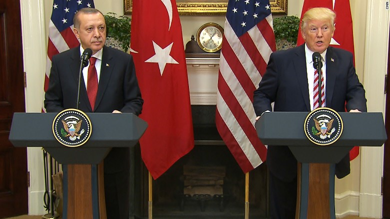 Trump meets with Turkey's Erdogan (full event)