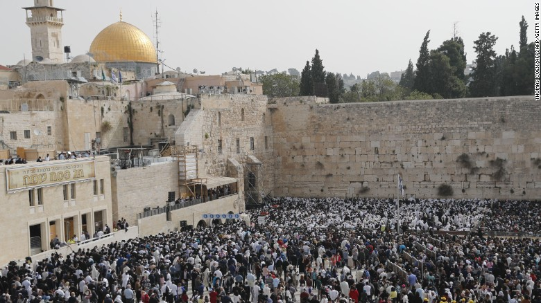 Confusion over status of Western Wall