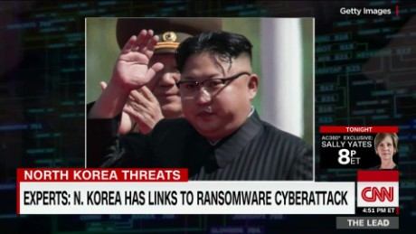 experts say north korea has links to ransomware cyberattack the lead will ripley _00001812